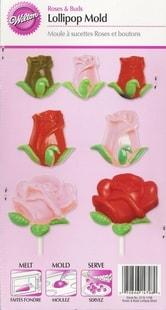 Wilton Forma na čokoládu růžičky
