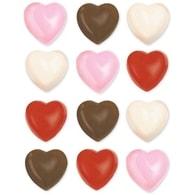 Wilton Forma na čokoládu srdíčka 12ks