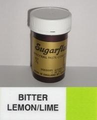 Sugarflair Colours Limetková gelová barva SGF Bitter Lemon/Lime