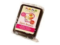 FunCakes Hnědý marcipán Dark Brown 250 g