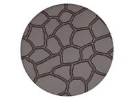 PME Otiskovací a strukturální fólie dekor Kamenná zeď - Cobblestone Design