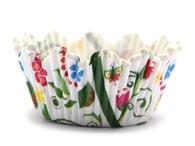 Städter Papírové košíčky 50 x 35 mm (100 ks) - květinové Florina