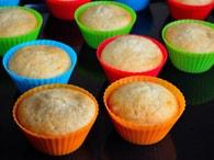 Maramisa Silikonové košíčky na muffiny 6 ks - cupcake formička (7x4cm)