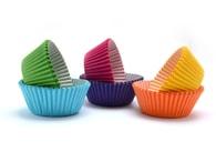 Wilton Papírové košíčky barevné - 300 ks (3x5 cm)