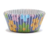 PME Papírové košíčky 50 x 30 mm (60 ks) - Květinová láska