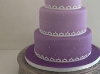 Kingcakes Fialová potahovací hmota - rolovaný fondán Sugar Paste Lilac 250g