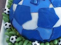 Kingcakes Modrá potahovací hmota - rolovaný fondán Sugar Paste Blue 250g