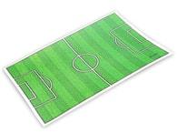 Modecor Jedlý papír fotbalové hřiště