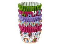 Wilton Papírové košíčky na muffiny/cupcake různobarevné růžové 150 ks (3,2x2,2 cm)
