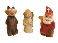 Mikuláš, Anděl a Čert - marcipánové figurky