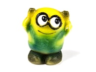Frischmann Žlutá postavička - marcipánová figurka na dort